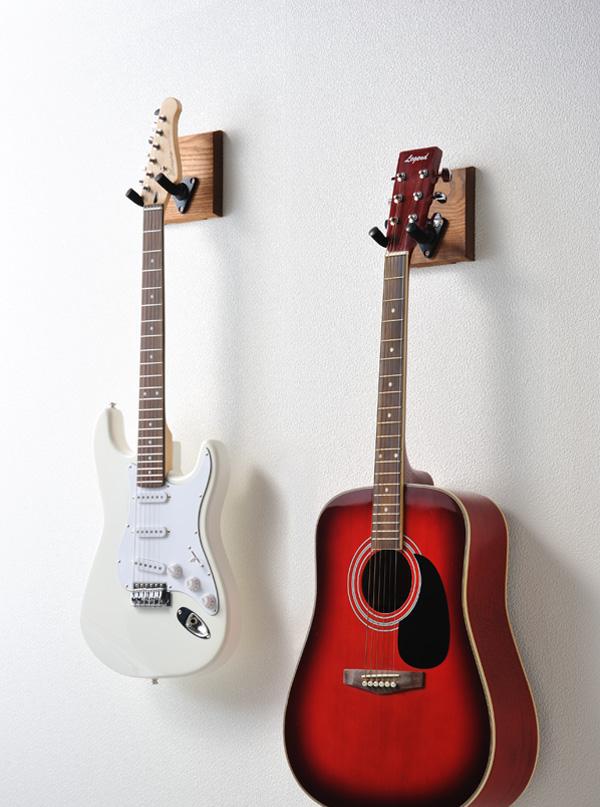 ギターを壁掛け!賃貸でもできるギター壁掛けアイテム!ギターハンガーRENO