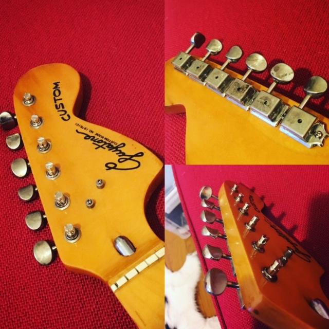 ジャパンビンテージギターを甦らせる!その1:ペグを交換しよう