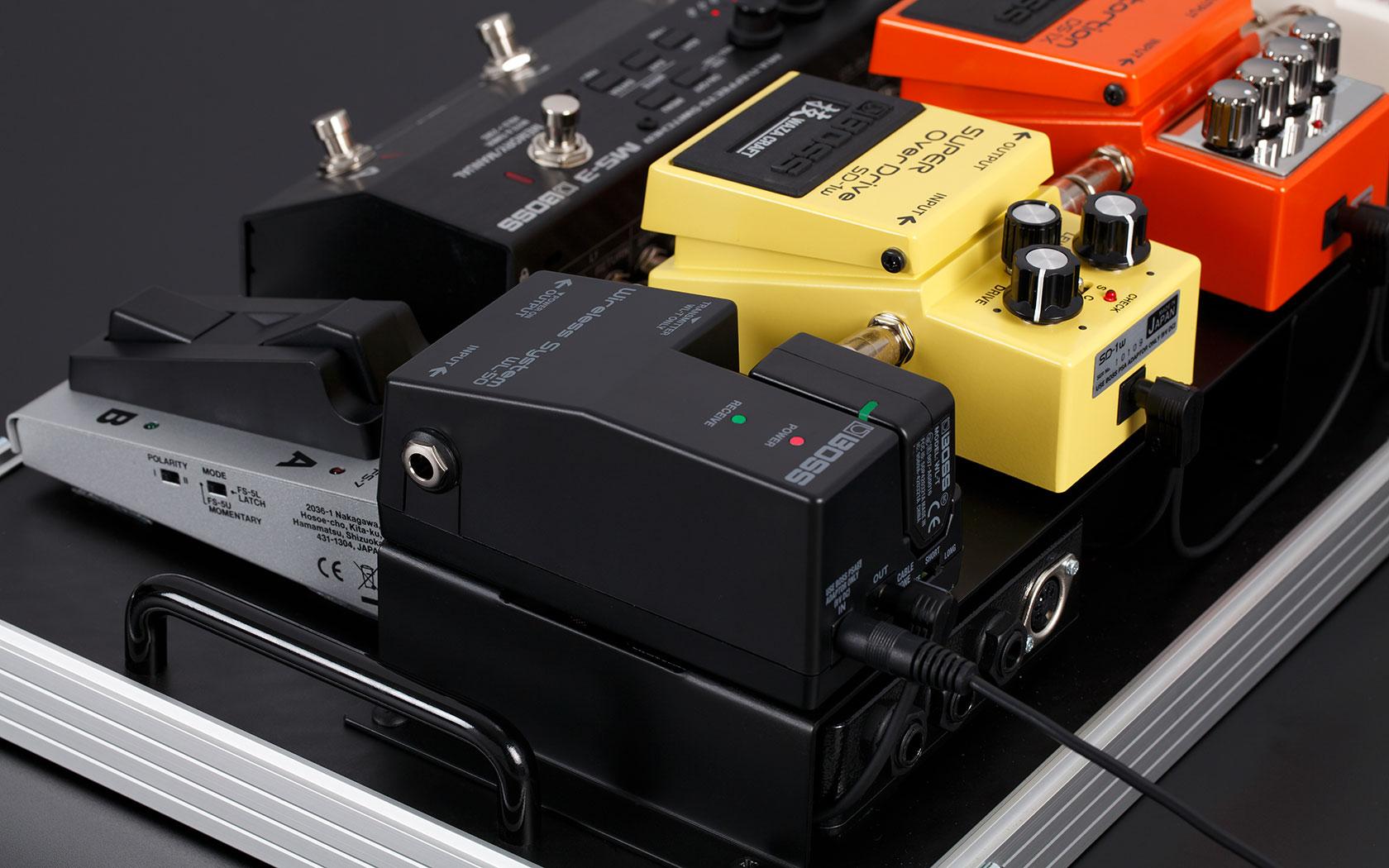 BOSSが投入したワイヤレス!WL-50はコンパクトサイズ!